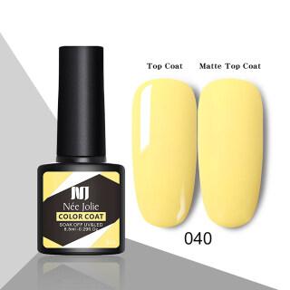 Zhixin 80 Colors Nee Jolie 8.5Ml Tahan Lama Glitter Seni Polandia Gel Rendam Off UV Cepat Kering Pernis Lacquer thumbnail