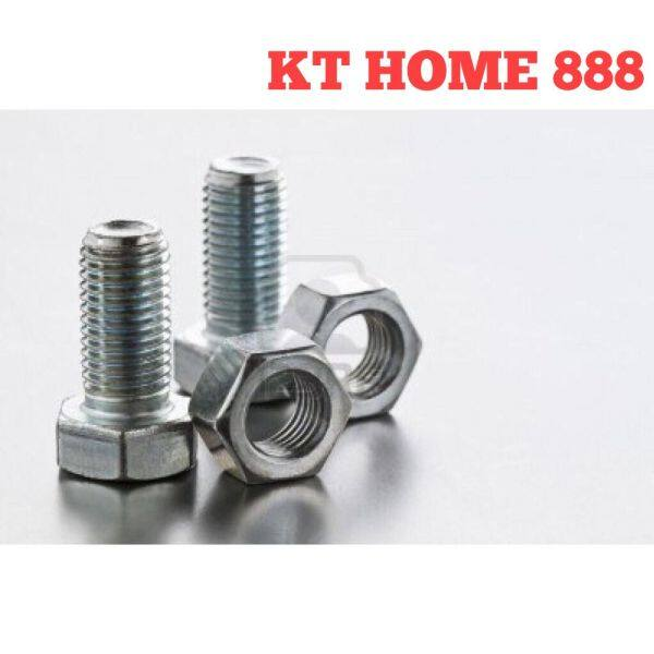 Skru Rak Besi Lubang (M8 x 16mm) / Screw Bolts and Nuts for Slotted Angle Bar x 1pcs