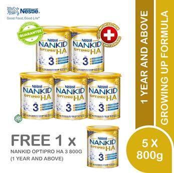 6 X Nankid Optipro Ha 3 800g By Lazada Retail Nankid.