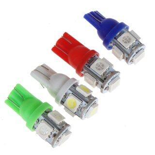 Đèn LED Siêu Sáng T10 W5W 5-SMD 5050 Bóng Đèn Nêm Thay Thế Nguồn 194 168 2825 Đèn Nội Thất Cho Ô Tô Xe Máy Nhiều Màu Sắc Cho Sự Lựa Chọn thumbnail