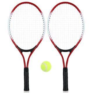 2 Cái Vợt Tennis Cho Trẻ Em Vợt Tennis Với 1 Quả Bóng Tennis Và Túi Bọc Vợt Tập Tennis Thể Thao Ngoài Trời Đối Với Trẻ Em thumbnail