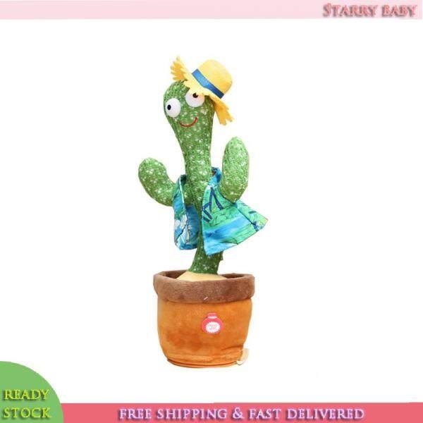 Cactus Plush Toys Singing and Dancing Cactus Electronic Cactus Plush Toys for Children