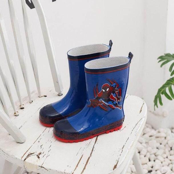 Bốt đi mưa cho trẻ em nam sinh tiểu học chống trượt Giày đi mưa cho bé giày cao su cho trẻ em cỡ lớn mùa xuân hè giá rẻ
