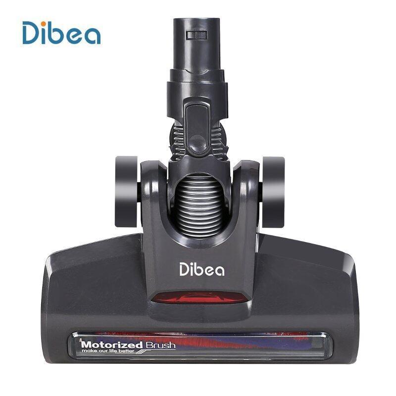 Đầu Làm Sạch Chuyên Nghiệp Dibea D18, Màu Đen, Có Động Cơ Cho Máy Hút Bụi Cầm Tay Không Dây Dibea D18, Cầm Tay