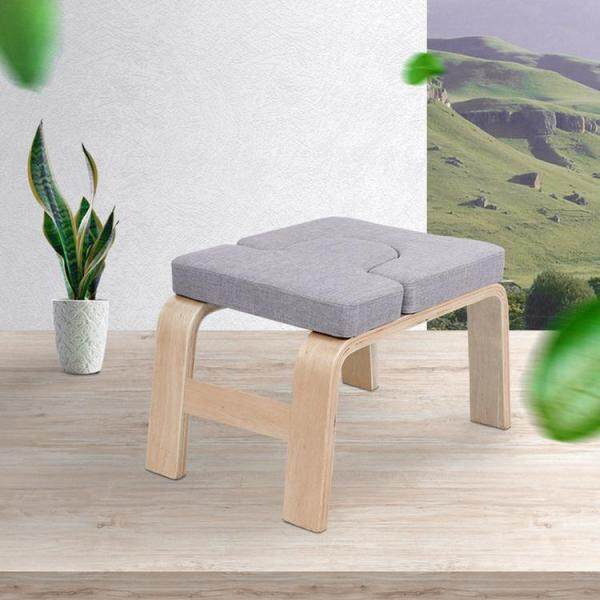 GUO Yoga Stool Yoga Headstand Bench Yoga Inversion Chair Stool Handstand for Family Gym Relieve Fatigue