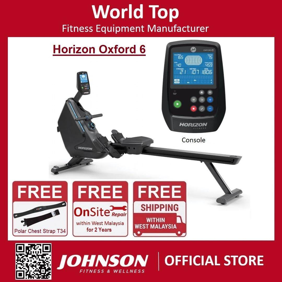 Johnson Fitness Horizon Oxford 6 Rower Machine By Johnson Fitness.