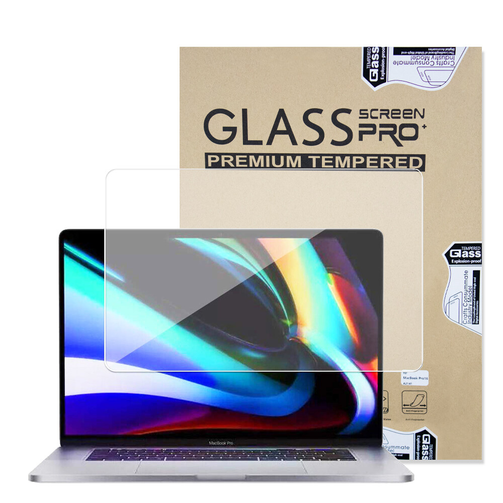 Full Screen Protector with Black Frame for MacBook Air 13 Inch with Touch ID Newest Version,Dust-proof Anti-scratch HD Clear Screen Protector for Macbook Pro 16 inch Model A1932