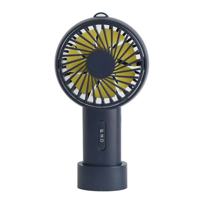 Amango Handheld Personal Mini USB Rechargeable Fan Base Portable Fan Outdoor/Office