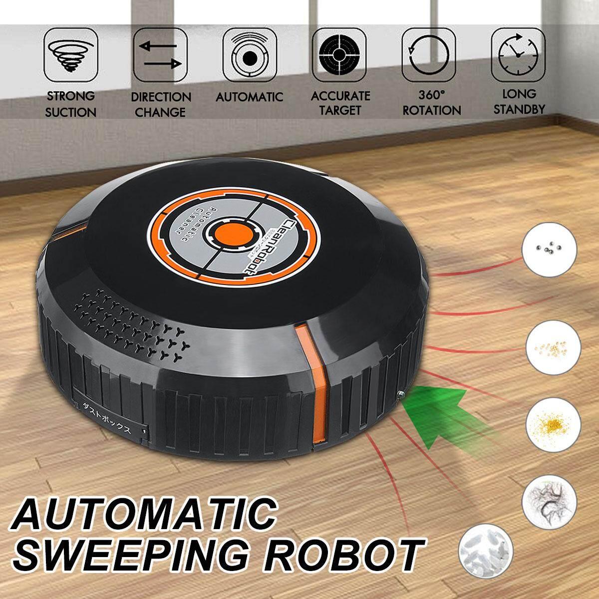 Automatic USB ชาร์จสมาร์ทกวาดเครื่องดูดฝุ่นหุ่นยนต์ดูดใหม่