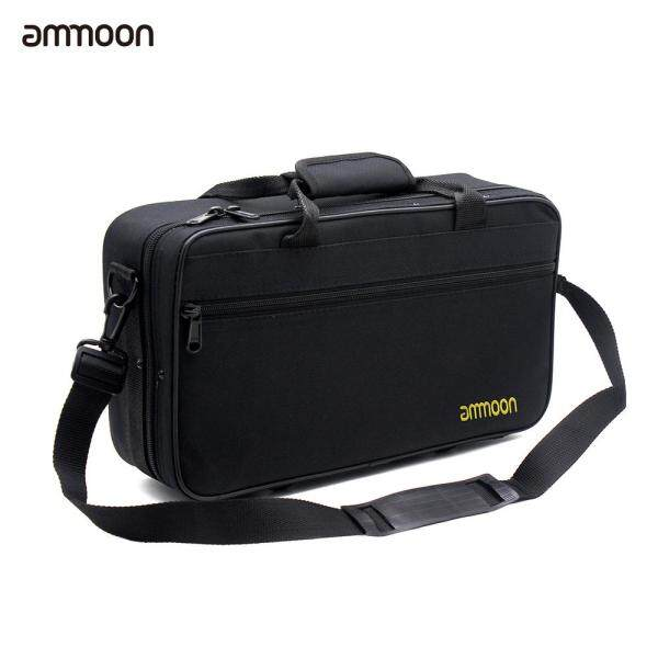 ammoon Bb Clarinet Case Water-resistant 600D Foam Cotton Padding with Adjustable Single Shoulder Strap Malaysia