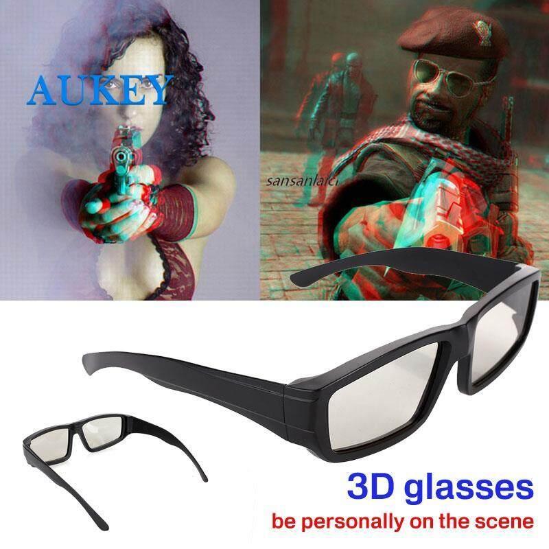 3D Kính 3D Kính Mắt Tròn Phân Cực Đa Năng 3D Nhựa ABS Phim Theatre Bộ Phim TRUYỀN HÌNH Theatre DVD MÀN HÌNH LCD Vòng Tròn Video Trò Chơi Giá Quá Ưu Đãi