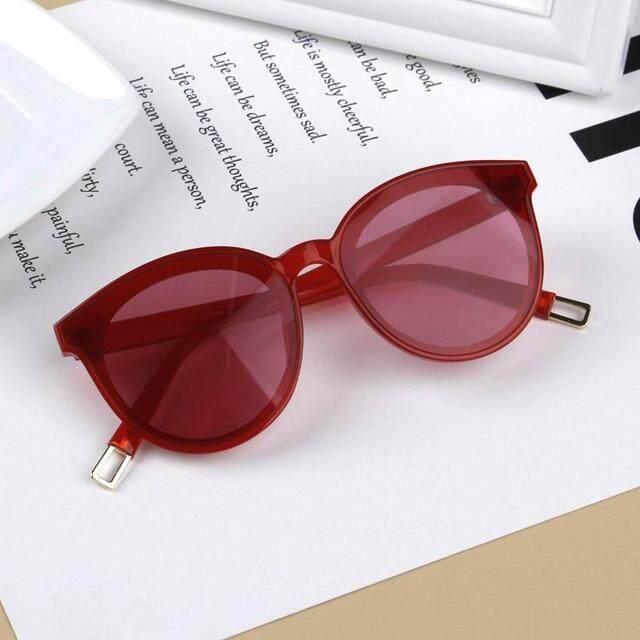 4116574f29b7 iboode Vintage Cat Eye Kids Sunglasses For Baby Children Boys Girls  Sunglasses Big Cute Cateye Sun