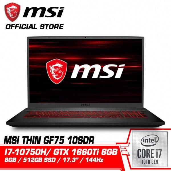 GF75 Thin 10SDR (GTX1660 Ti, GDDR6 6GB) Malaysia