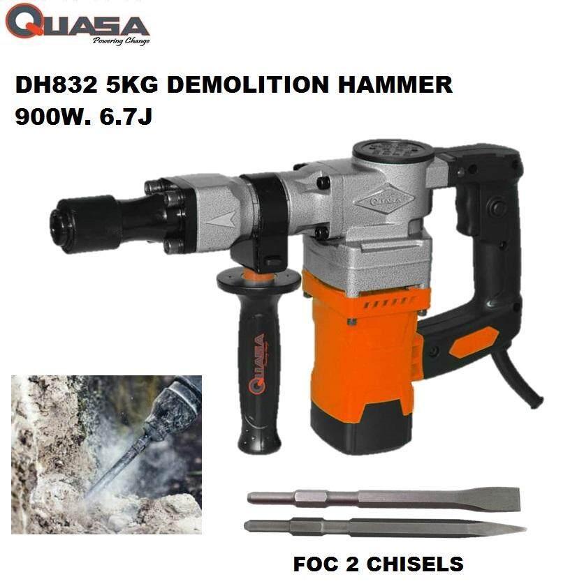 Quasa DH832 900W 15J Demolition Hammer 5kg [ GEOLASER ]