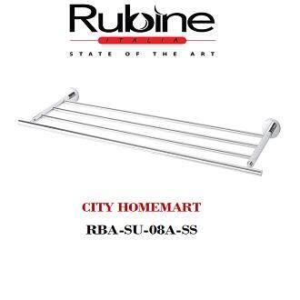 Rubine RBA-SU-08A-SS stainless steel tower bar