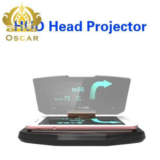 HUD Mobile GPS Navigation Bracket Head Up For Smartphones Phone Holders