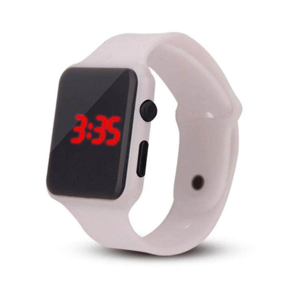 Efashion Mall Buckle Electronic LED Fashion Electronic Silicone Lighting Children Boys Girls Malaysia