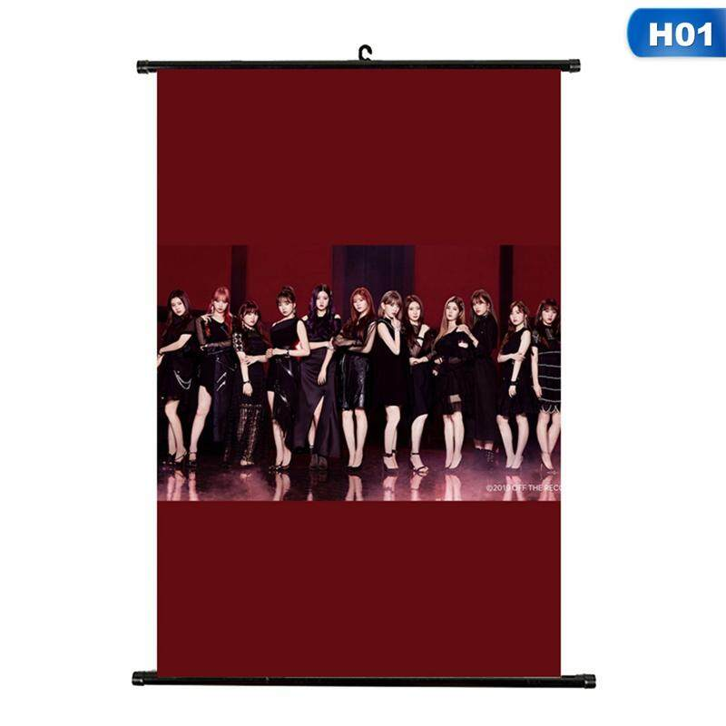 CANDY Kpop IZONE New Album Buenos Aires Scroll Painting Poster