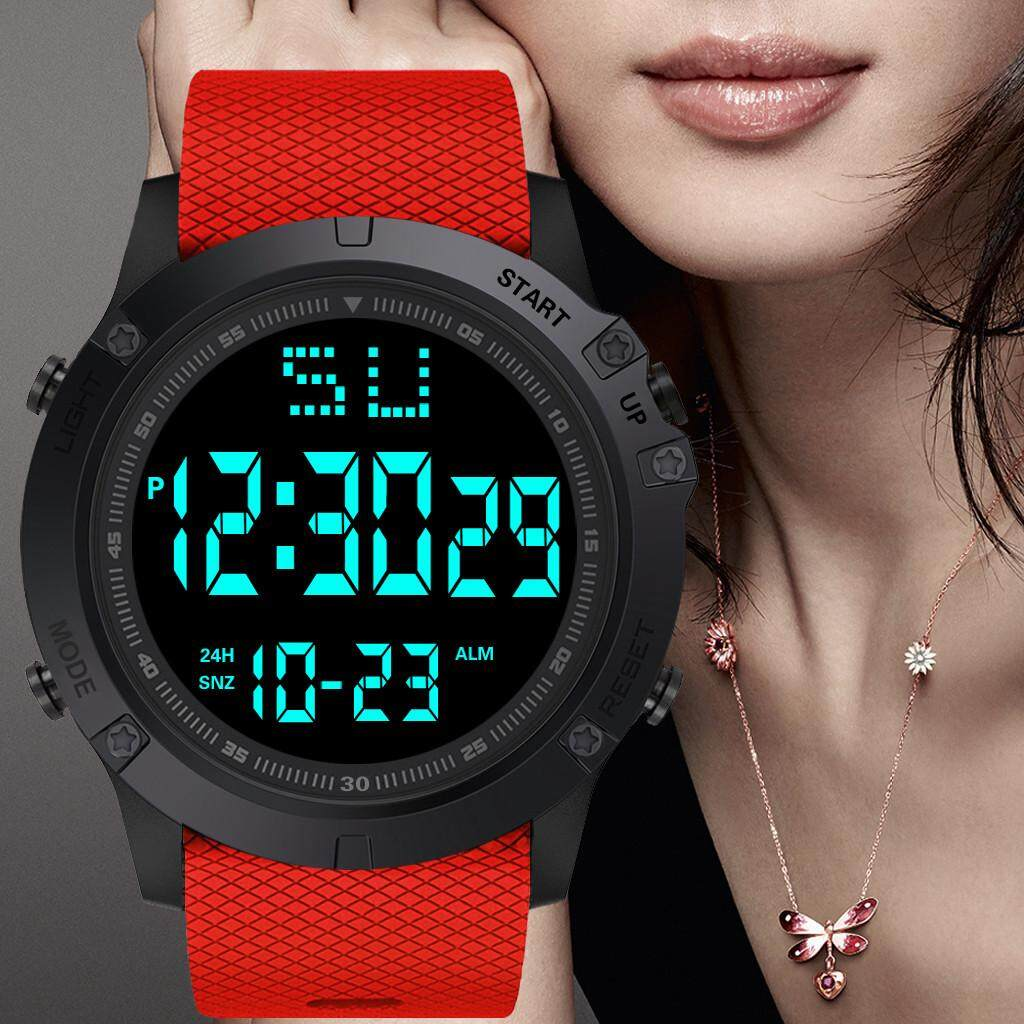 You raise me up Fashion Men LED Digital Date Military Sport Rubber Quartz Watch Alarm Waterproof WKJZ22231VZX Malaysia