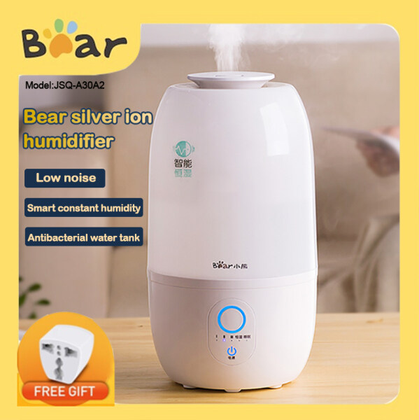 Bear JSQ-A30A2 Mute Pregnant Baby Bedroom Home Humidifier Humidifier Mini Desk Air Essential oil Aromatherapy Machine Singapore