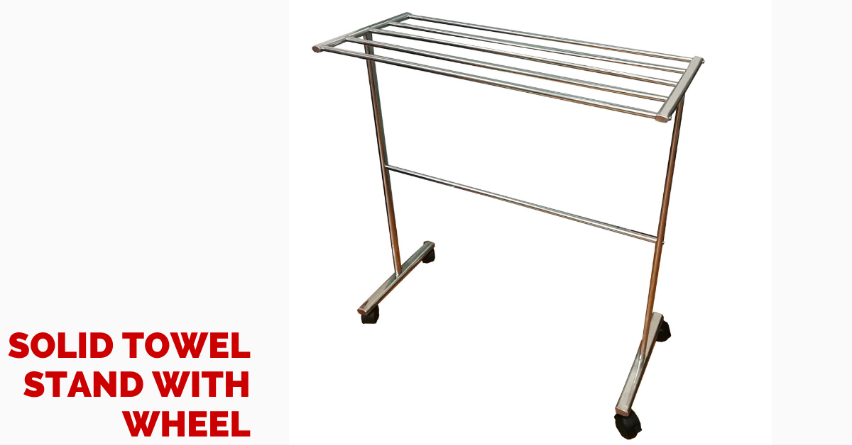 stainless steel towel stand towel rack rak tuala
