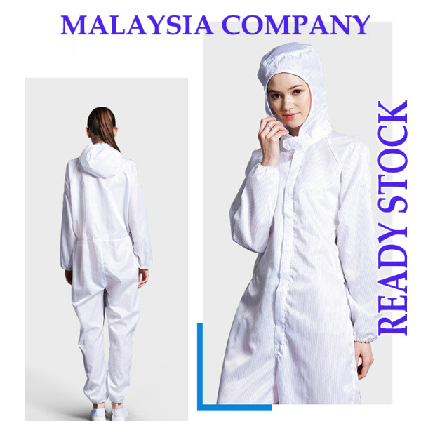 Cleanroom Coverall & Jumpsuit with Hood [READY STOCK👍👍]