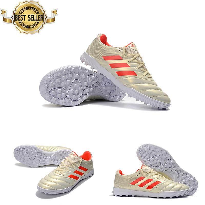 f28b20d100e Mens Copa 19.3 TF Futsal shoes Men Original Soccer Cleats 39-45-Beige