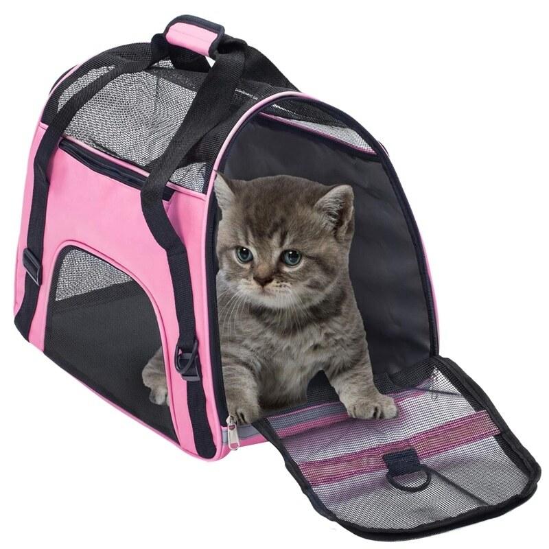 Túi Đựng Vật Nuôi Không Thấm Nước Được Phê Duyệt Túi Du Lịch Ngoài Trời Cao Cấp Di Động Cho Chó Con Nhỏ Comfort Chó Mèo Lồng Thùng Bo