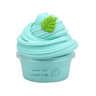 Slime Cho Trẻ Em Đồ Chơi Trẻ Em DIY Slime Cung Cấp Trái Cây Kit Đám Mây Slime Hương Liệu Áp Lực Trẻ Em Slime Để thumbnail
