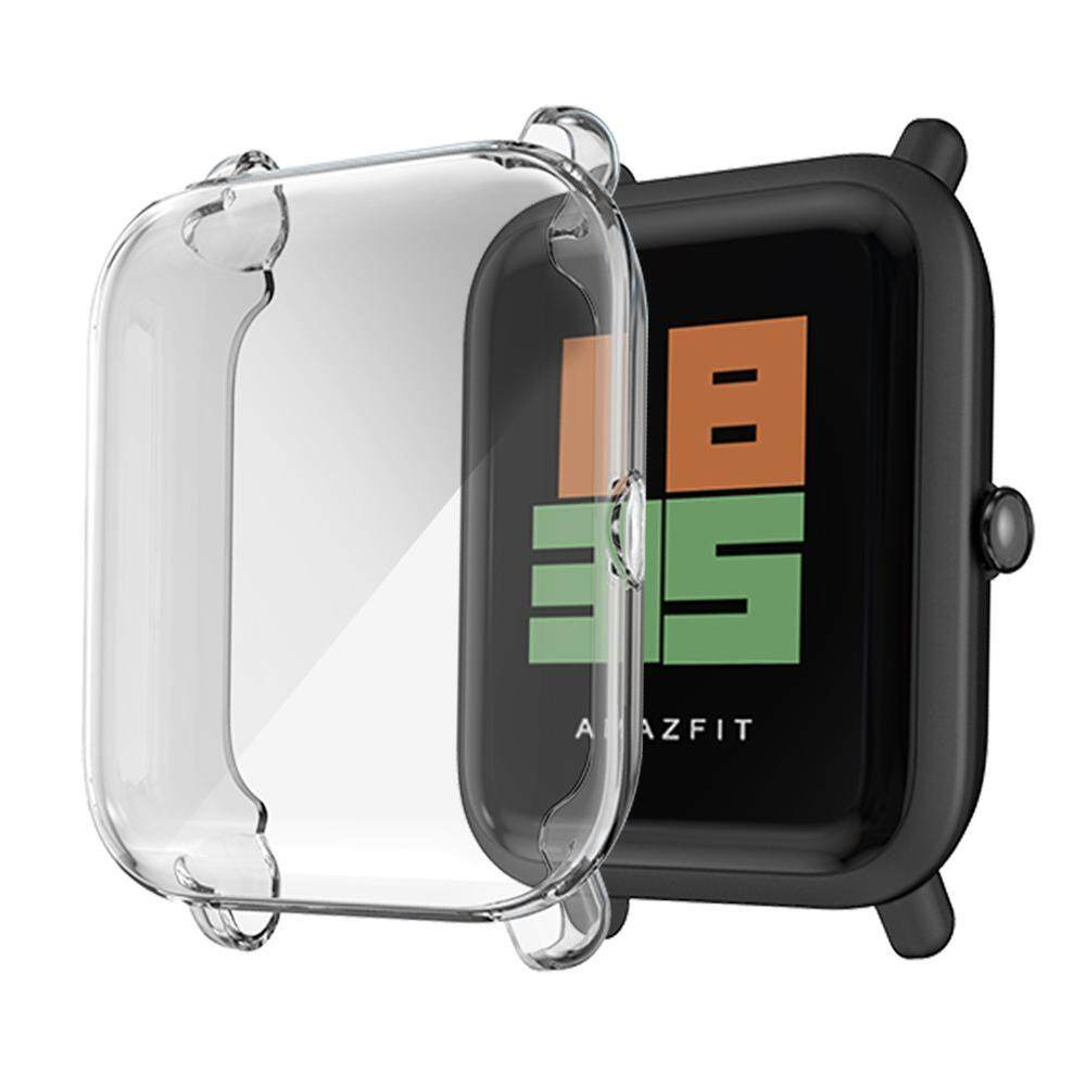 New Watch Cover Bumper Case For Xiaomi Huami Amazfit Bip BIT PACE Youth  Band Protective Case Cover Frame Shell