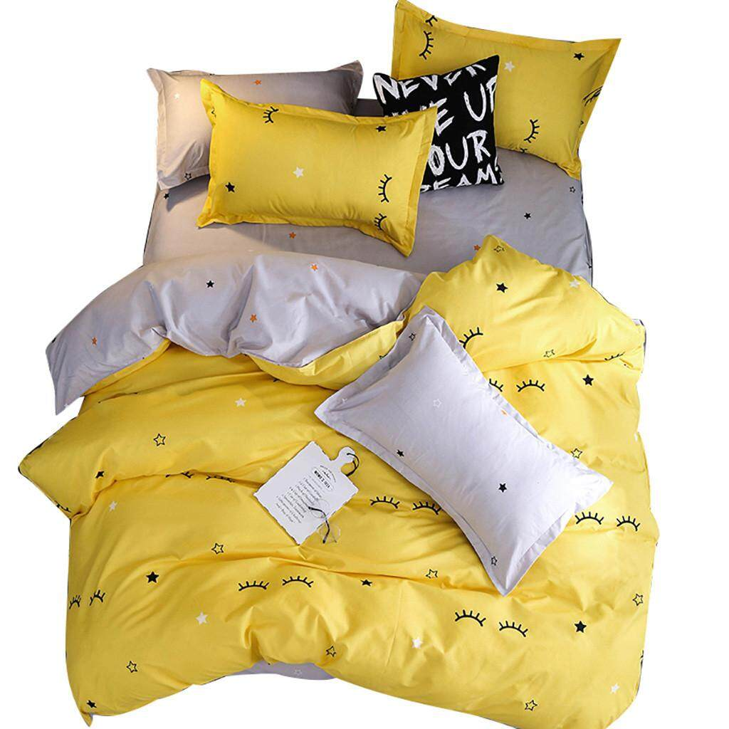 High-grade Four-Piece Duvet Cover Duvet, Pillowcase Eyelash Bay Full Size