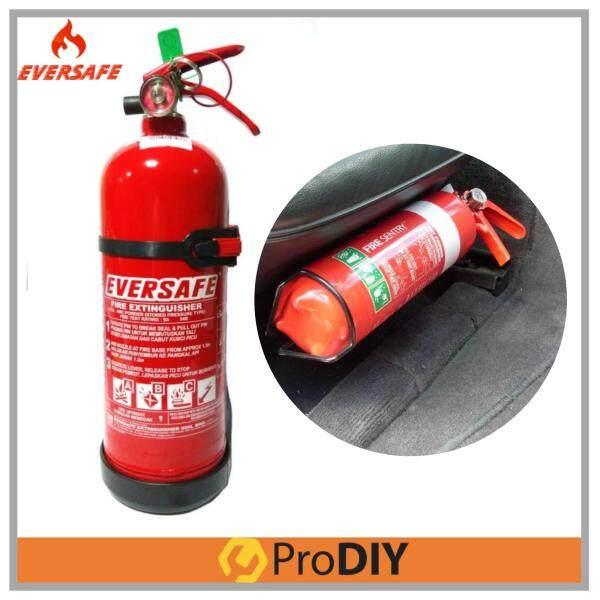 EVERSAFE 1KG Fire Extinguisher ABC Dry Powder