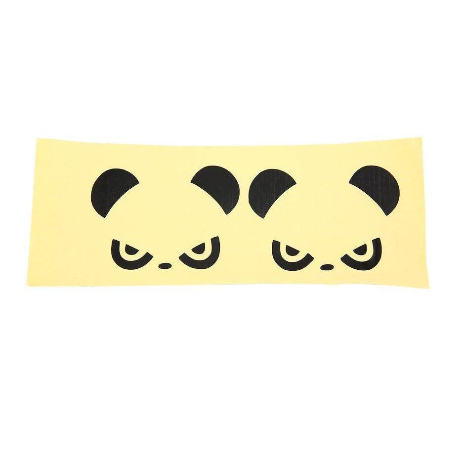 Hot penjual mobil marah stiker mobil gambar panda stiker waterproofon pintu diukir stiker mobil