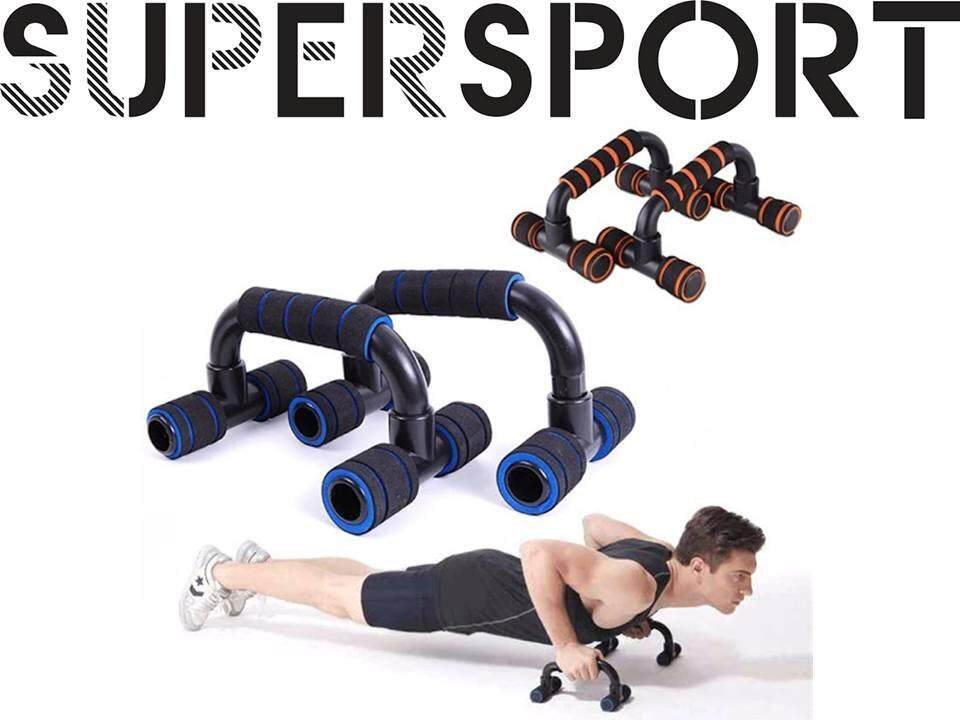 73a56f78c56f1 SUPERSPORT Push Up Bar Stands Fitness Equipment Home Gym Bars Muscle  Training Body Building
