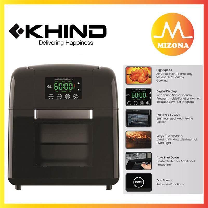 Mizona Khind 9.5liter Multi Air Fryer Oven (arf9500) By Mizona Mall.