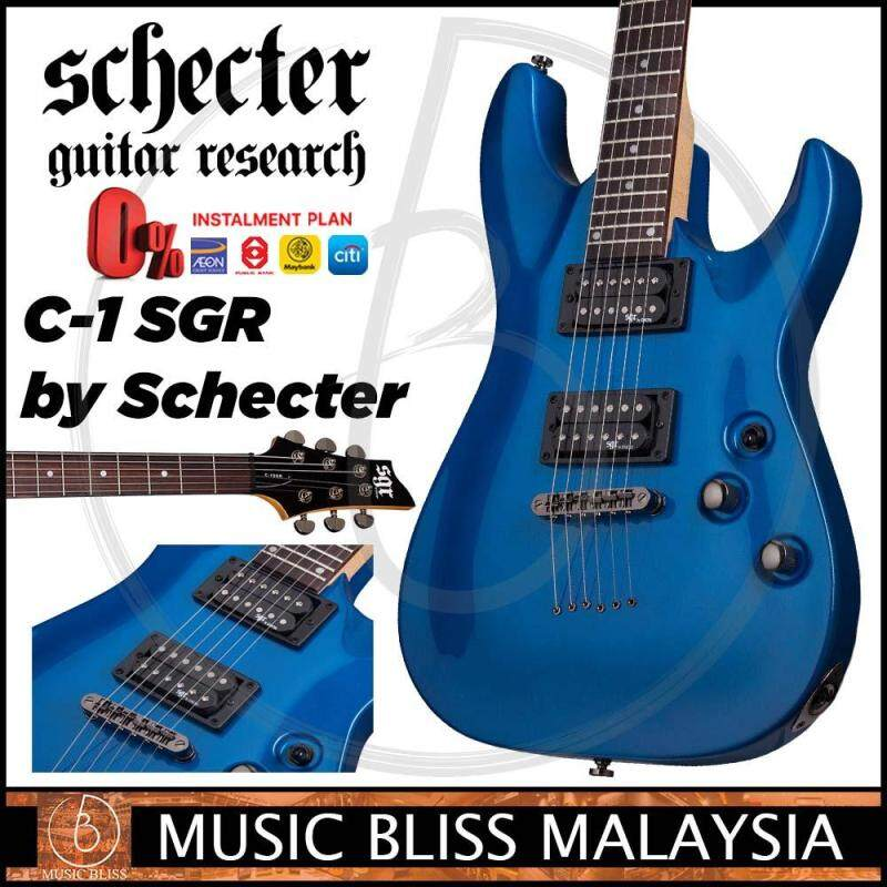 Schecter SGR C-1 - Electric Blue (C1) Malaysia