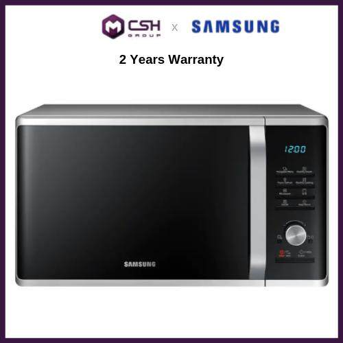 Samsung Grill Microwave Oven with Healthy Steam, 28L (MG28J5255GS) MG28J5255GS/SM