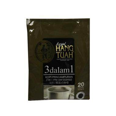 Hang Tuah 3 in 1 Pre-Mix Coffee 20 x 20g