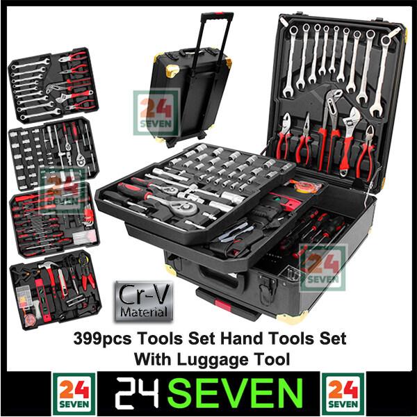 399pcs Tool Set Hand Tools Box Socket Set With Luggage Tool Box CRV T Original Car Repair Tool