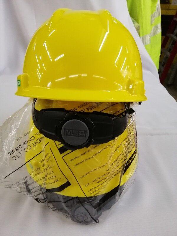 MSA V Gard industrial safety helmet