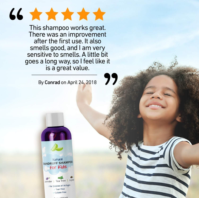 Iimono Honeydew Anti Dandruff Shampoo For Kids Best Tear Free Natural Children S Scalp Treatment With Lavender Tea Tree Jojoba Sulfate Free For All Ages 8oz Lazada