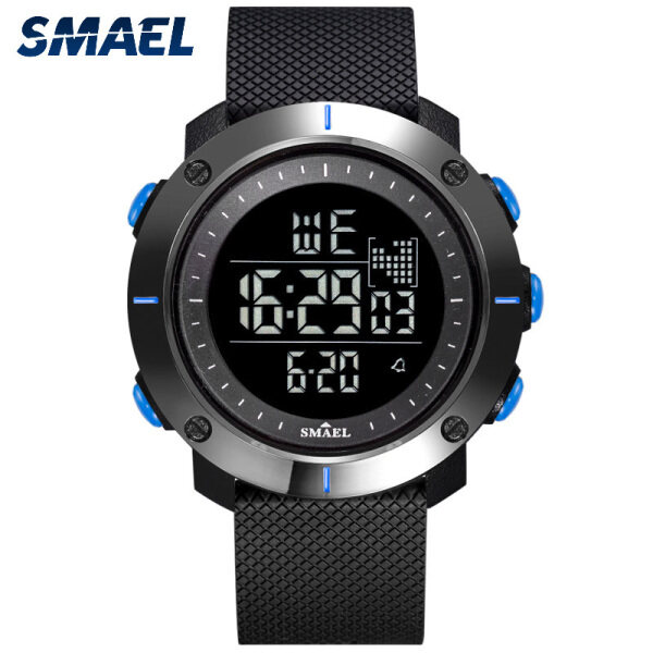 SMAEL Electronic Wristwatches Hot Men Watches Digital Watch Sports Waterproof  Shockproof Watches 1711 Malaysia