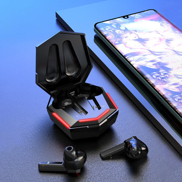 KS06 Bluetooth Gaming Earbuds Wireless Stereo In-Ear Headphones Stereo Earphones with Charging Case Singapore