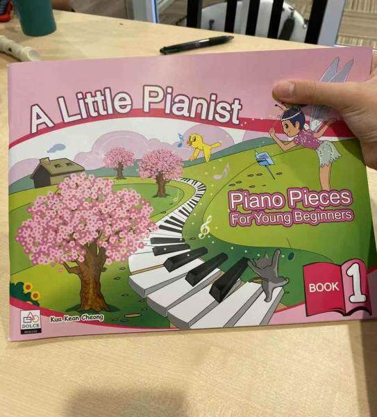 A Little Pianist Piano Pieces for Young Beginners Malaysia
