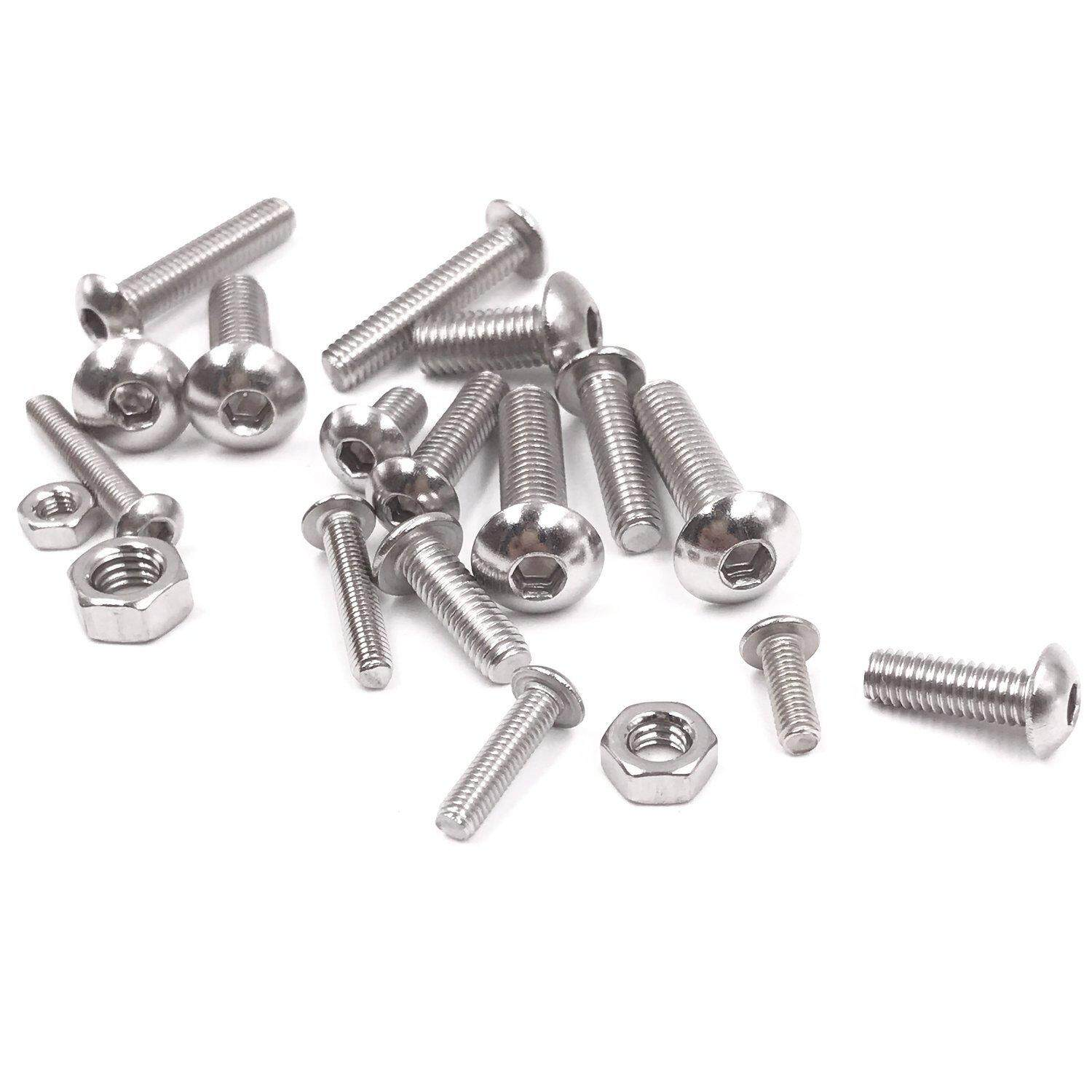M3 A2 Stainless Steel Metric Hexagon Full Nuts 50