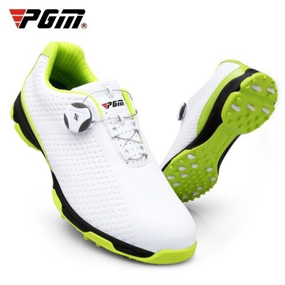 Giày Chơi Golf PGM Cho Nam Và Nam, Giày Thể Thao Chơi Gôn, Giày Dây Giày Xoay Tự Động, Không Thấm Nước, Thoáng Khí, Thoải Mái giá rẻ
