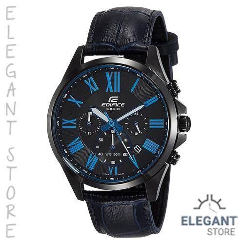 f9f8c473bbee Casio Edifice EFV-500BL-1B Standard Chronograph Men s Watch   EFV-500BL-