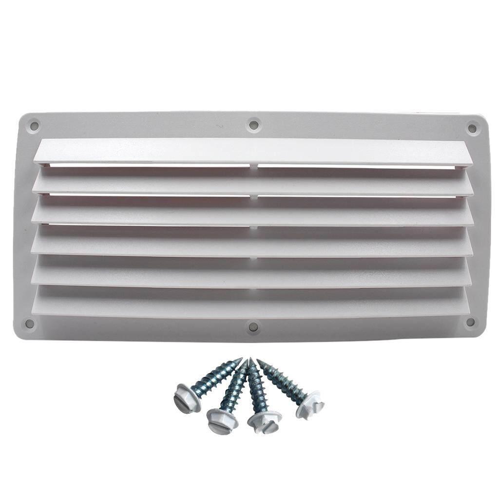 Gazechimp ABS Plastic Louvered Vent Ventilation for Boat, Caravan & RV 26cm  x 12 5cm