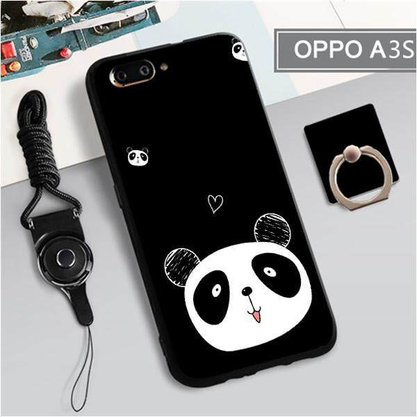 buy online ff9bc c4bd8 For Oppo A3s New Cartoon Lovely Animals TPU Soft Case Fashion Phone Case  Cover Casing 3in1
