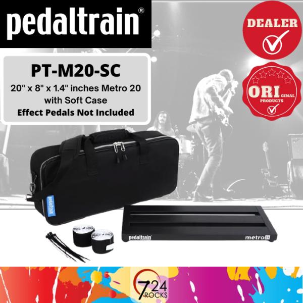 724 ROCKS Pedaltrain PT-M20-SC Metro 20 20 x 8 Pedalboard with Soft Case / Pedal board Malaysia